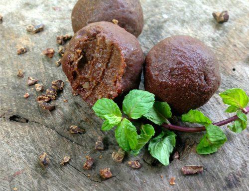Nut-Free Choc Mint Balls